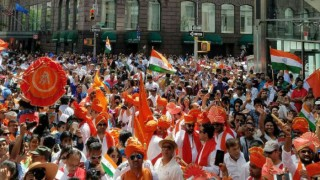 Indians celebrate Independence Day at grand parade in New York