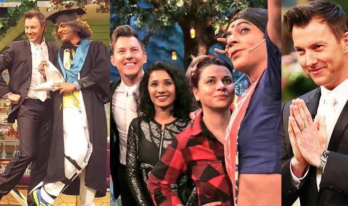 The Kapil Sharma Show: Brett Lee discusses kissing Tannishtha Chatterjee!