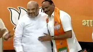 Uttar Pradesh Elections 2017: BSP leader Brajesh Pathak joins BJP in presence of Amit Shah